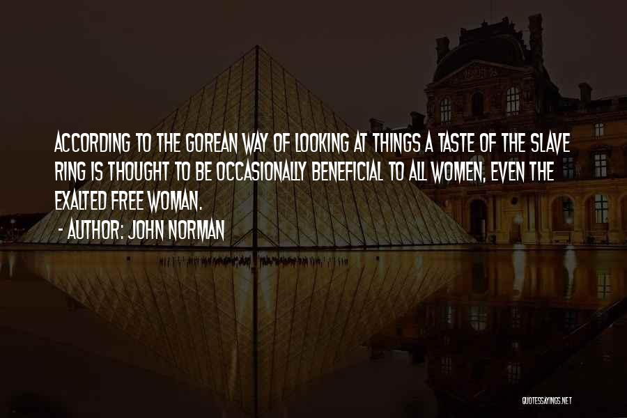 John Norman Quotes 319890