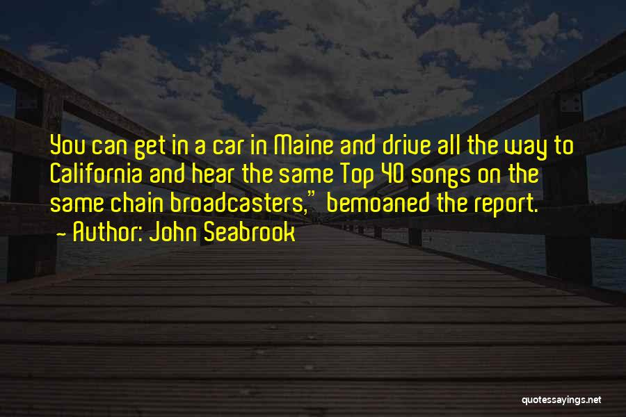 John O'callaghan The Maine Quotes By John Seabrook