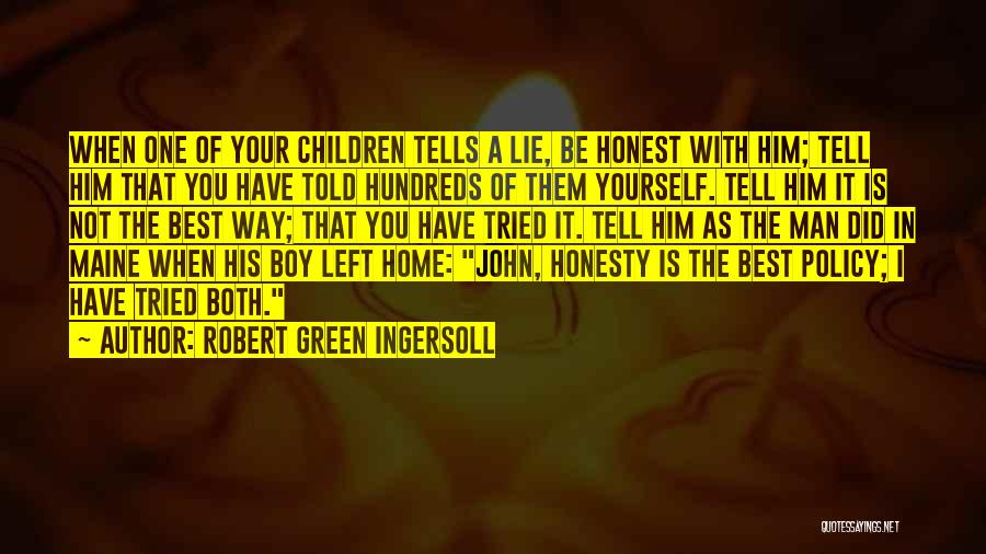 John O'callaghan The Maine Quotes By Robert Green Ingersoll