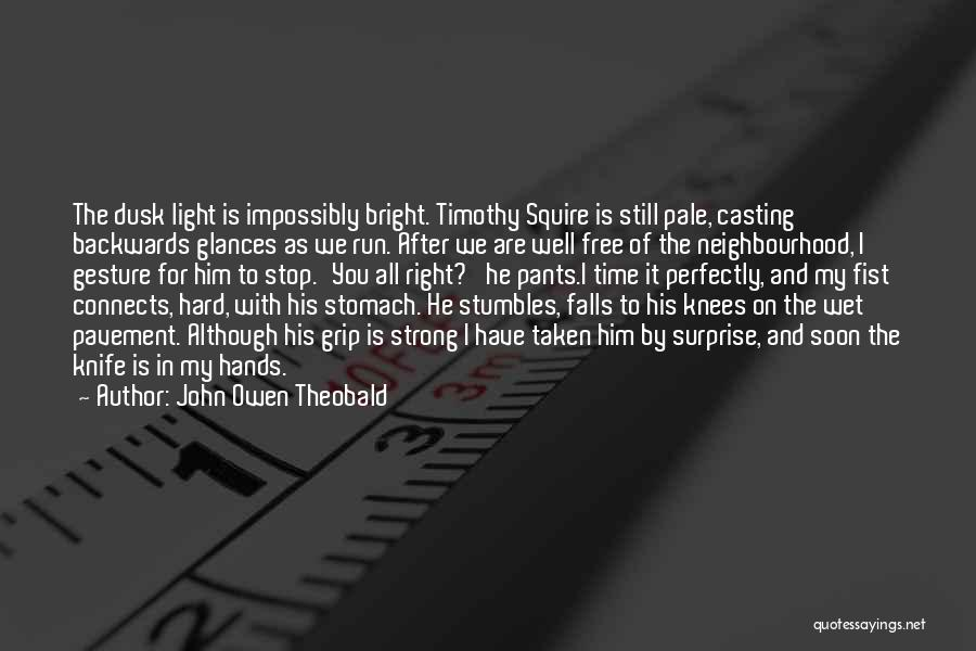 John Owen Theobald Quotes 157901