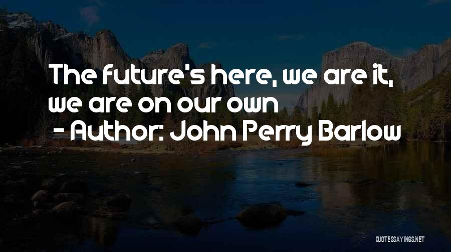 John Perry Barlow Quotes 1030493
