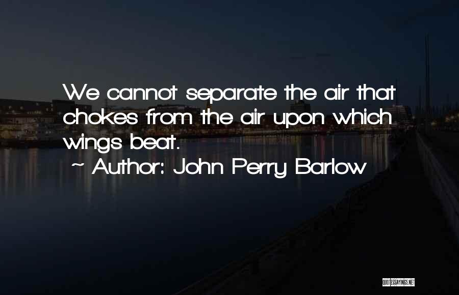 John Perry Barlow Quotes 1175527