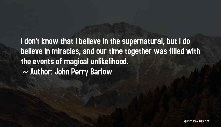John Perry Barlow Quotes 1364117
