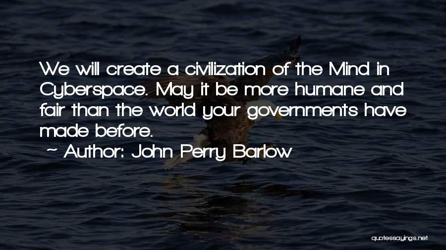 John Perry Barlow Quotes 142409