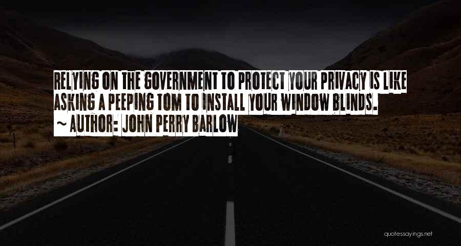 John Perry Barlow Quotes 1816375