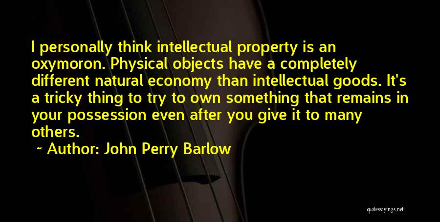 John Perry Barlow Quotes 1831722