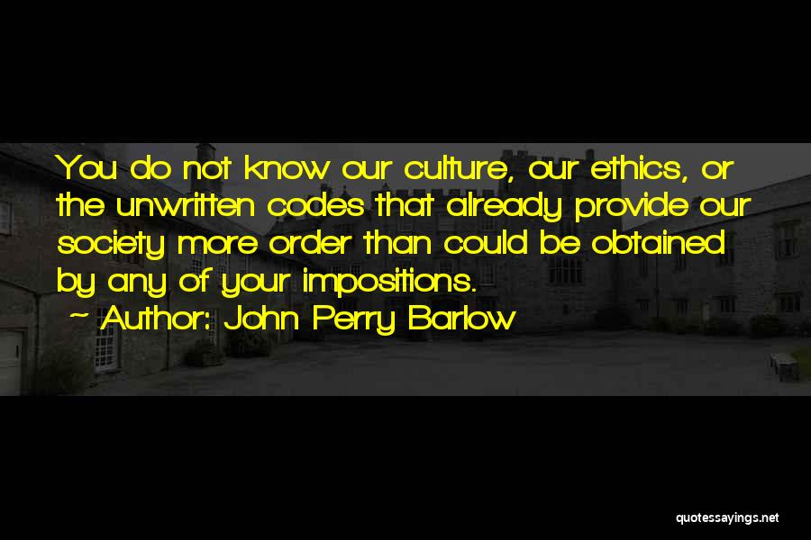 John Perry Barlow Quotes 2157768