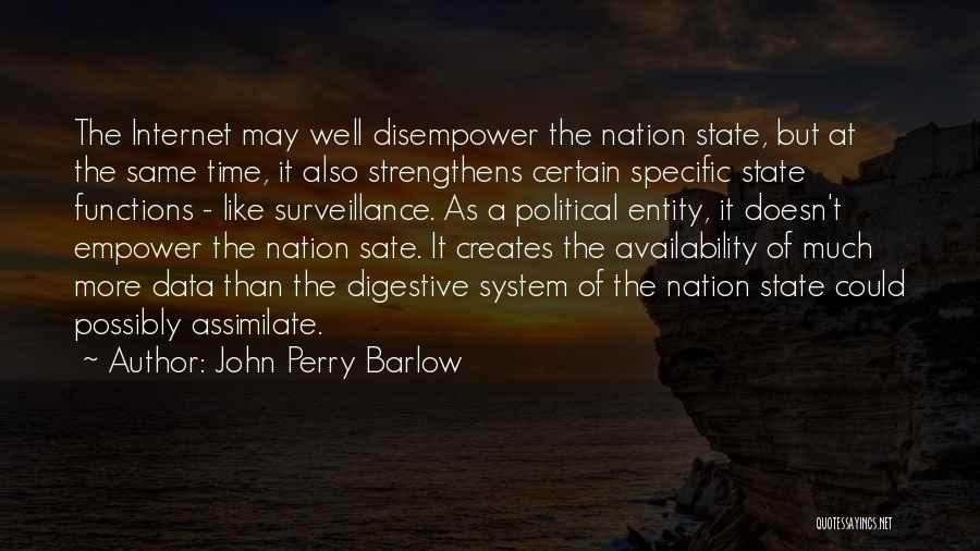 John Perry Barlow Quotes 249813