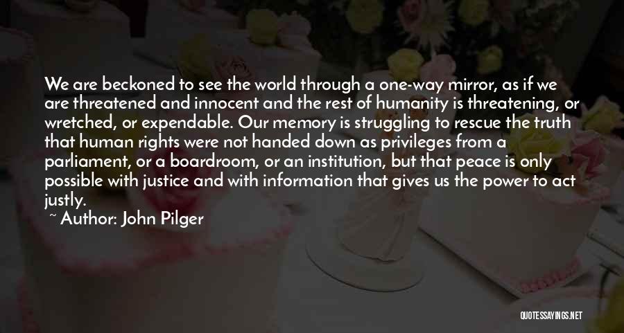 John Pilger Quotes 558137