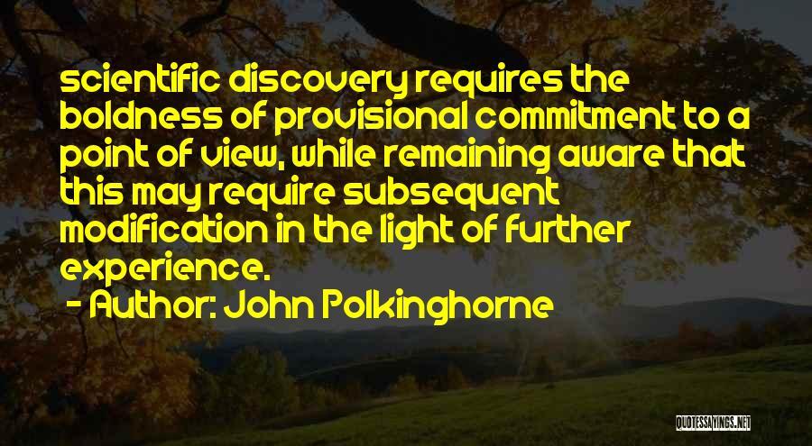 John Polkinghorne Quotes 100972