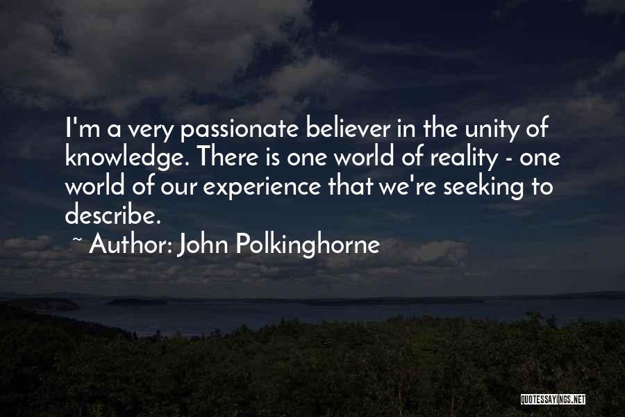 John Polkinghorne Quotes 1203975