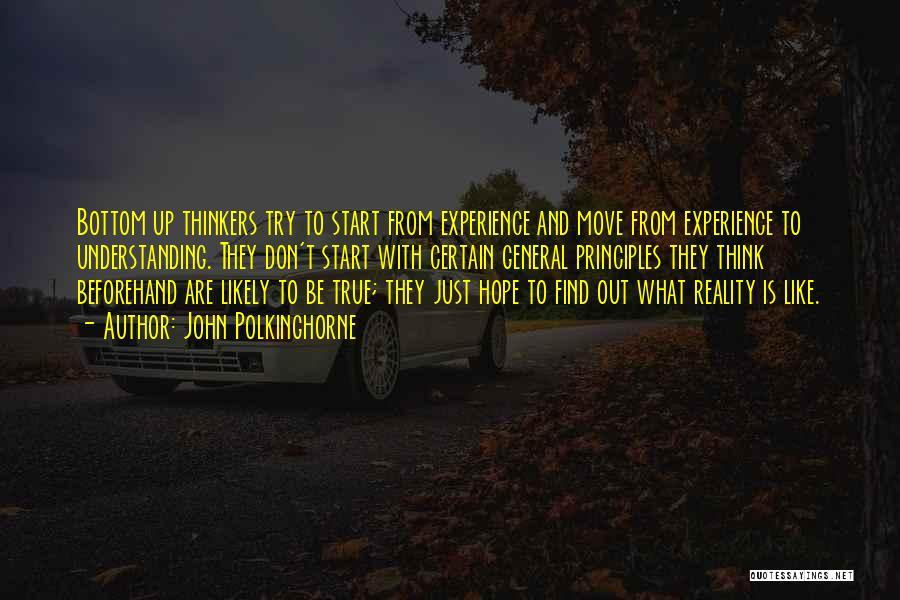 John Polkinghorne Quotes 1302544