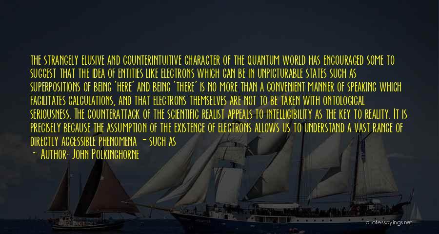 John Polkinghorne Quotes 1410968