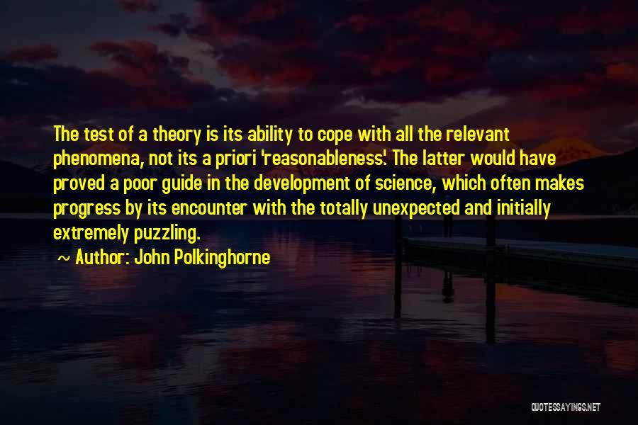John Polkinghorne Quotes 147986