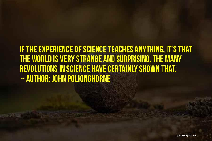 John Polkinghorne Quotes 1941790