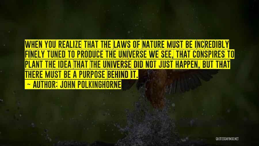 John Polkinghorne Quotes 296132