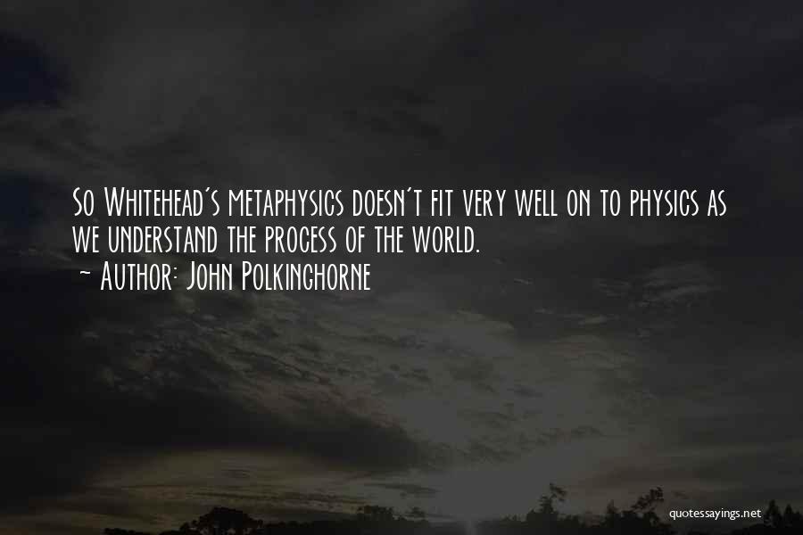 John Polkinghorne Quotes 719447