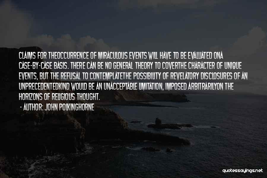 John Polkinghorne Quotes 850469