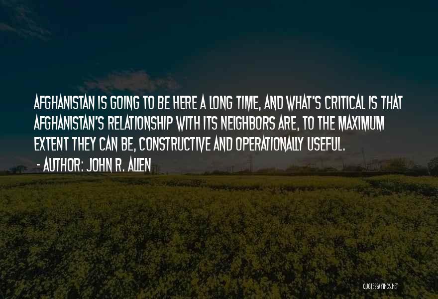 John R. Allen Quotes 918004