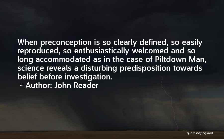 John Reader Quotes 173383