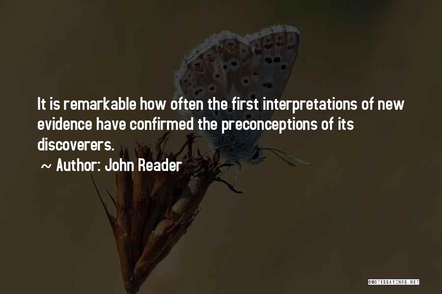John Reader Quotes 1755081