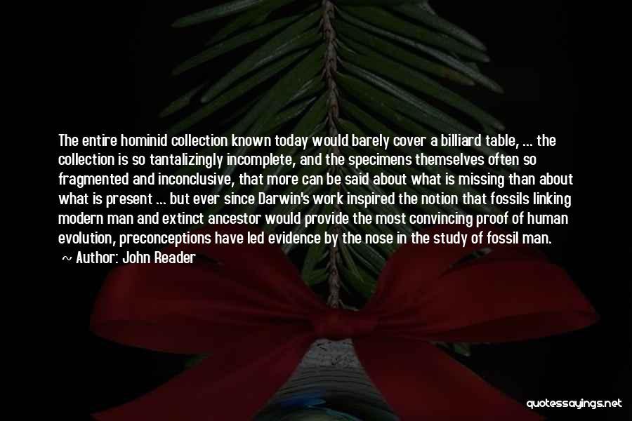 John Reader Quotes 525957