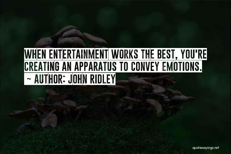John Ridley Quotes 1556952