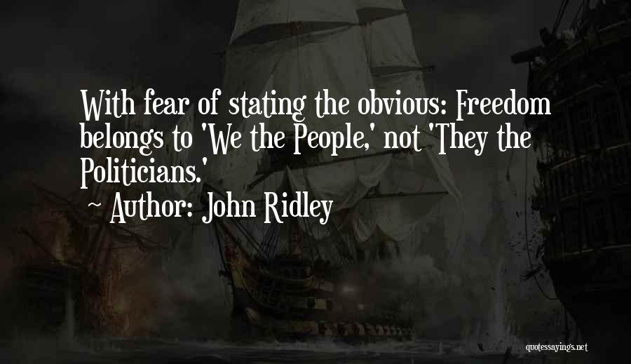 John Ridley Quotes 1783394
