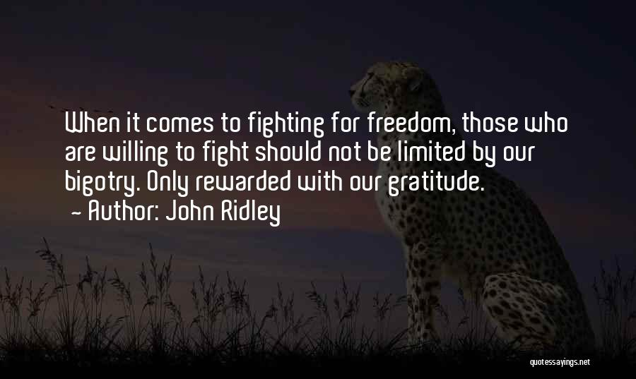 John Ridley Quotes 202968