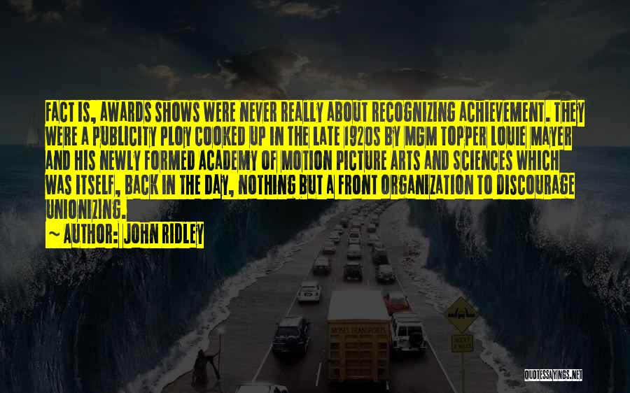 John Ridley Quotes 2059733