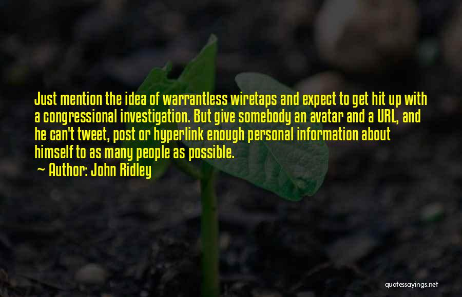 John Ridley Quotes 2075067