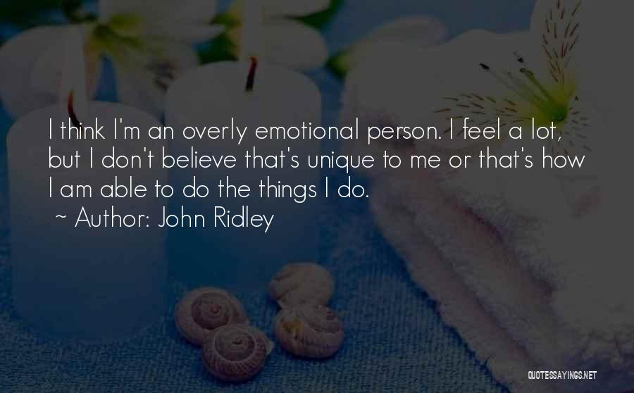 John Ridley Quotes 299076