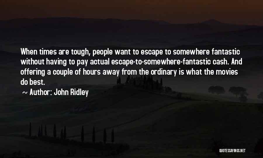 John Ridley Quotes 727788