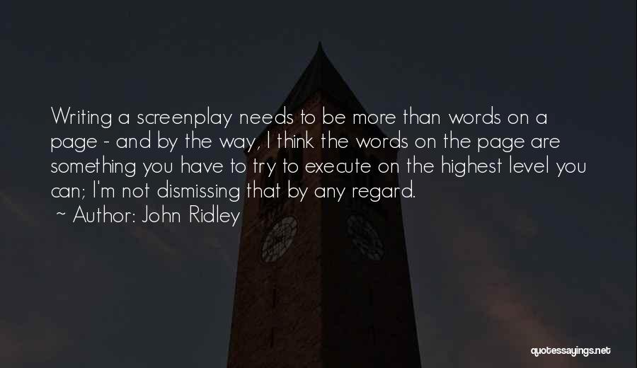 John Ridley Quotes 739172
