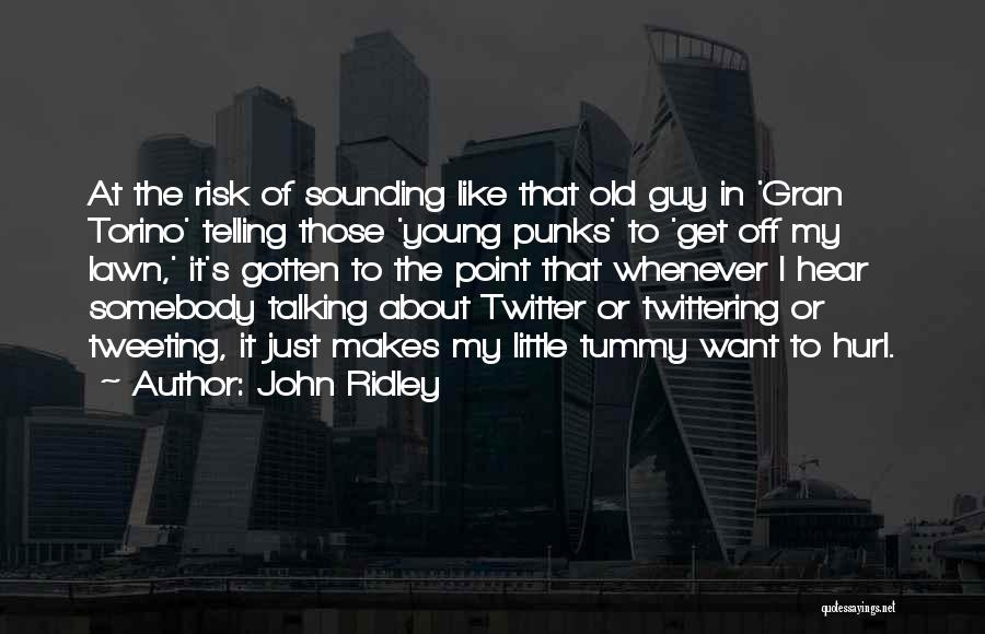 John Ridley Quotes 760518