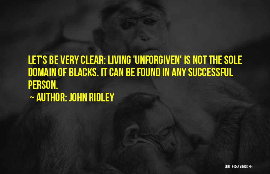 John Ridley Quotes 919805