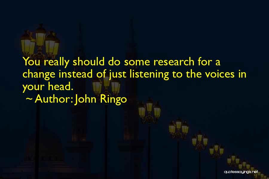 John Ringo Quotes 1621419