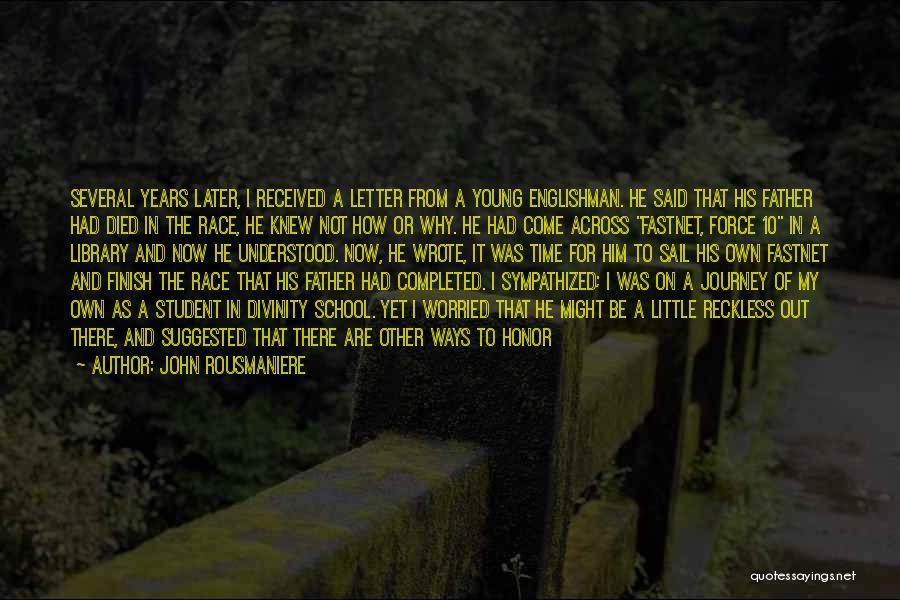 John Rousmaniere Quotes 2135630
