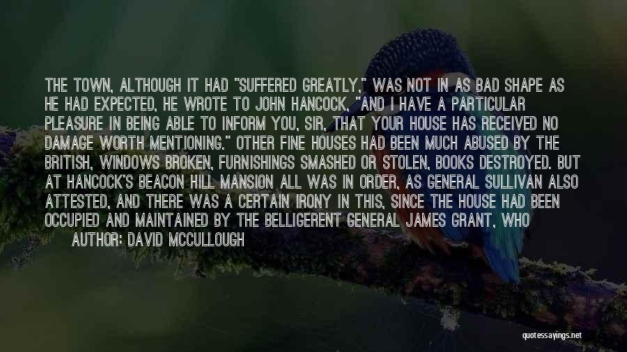 John Sullivan Quotes By David McCullough