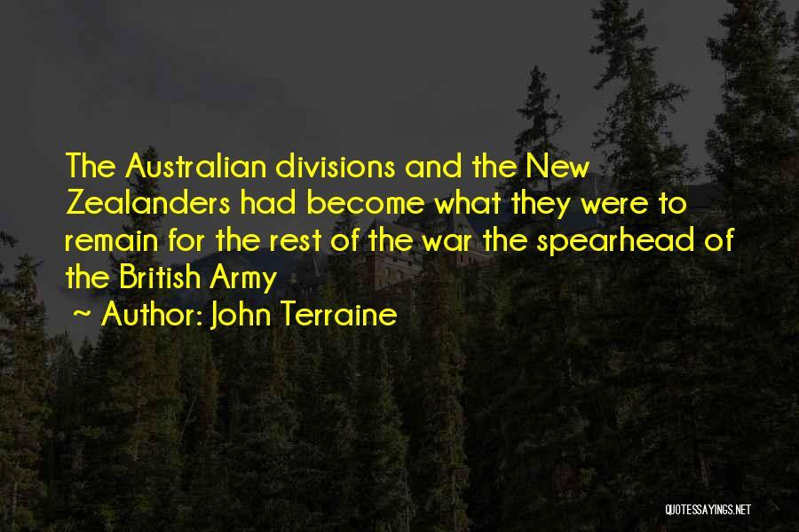 John Terraine Quotes 1010834