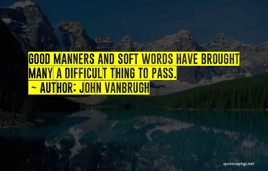 John Vanbrugh Quotes 1317478