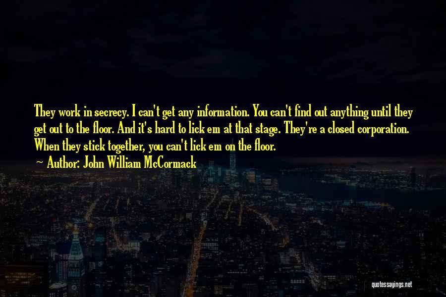 John William McCormack Quotes 532240