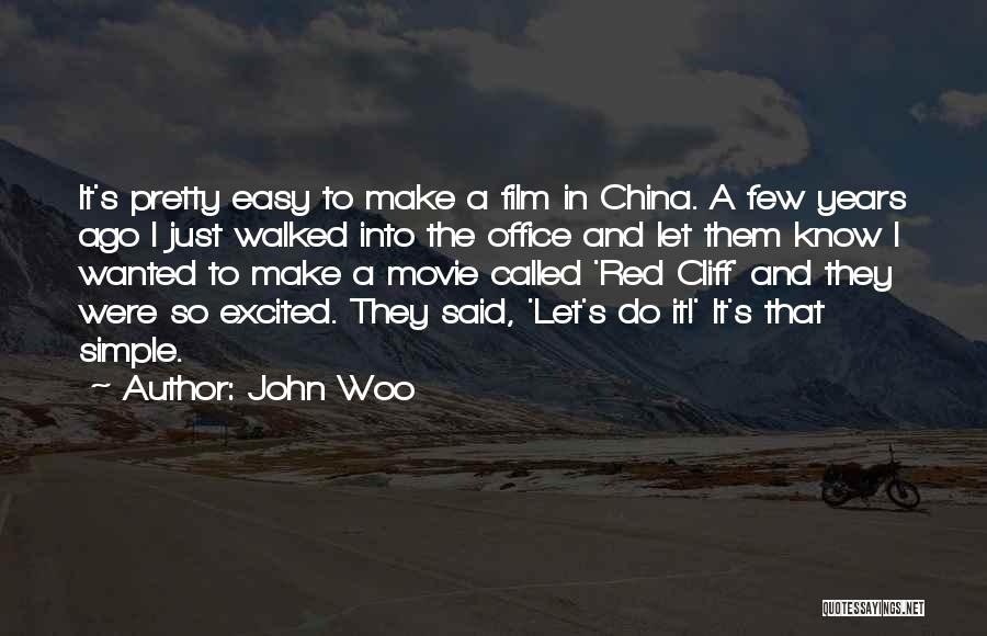 John Woo Quotes 1195677