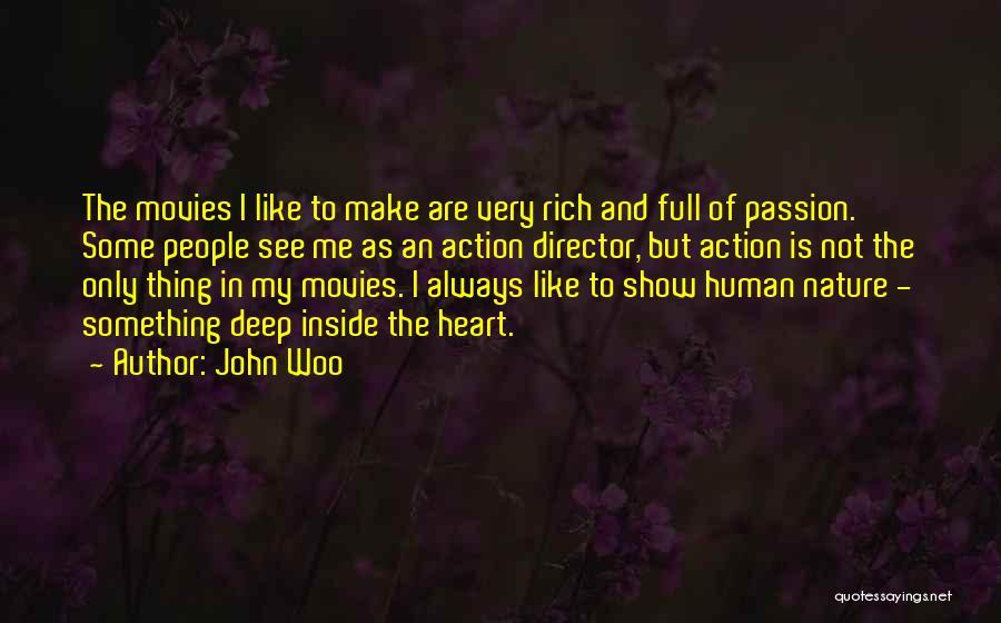 John Woo Quotes 1289022