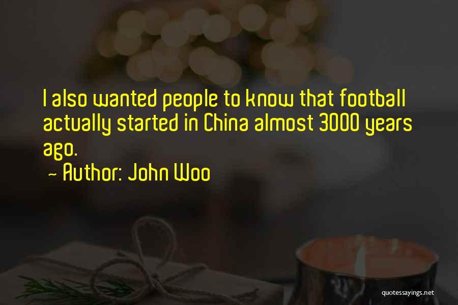 John Woo Quotes 1363074