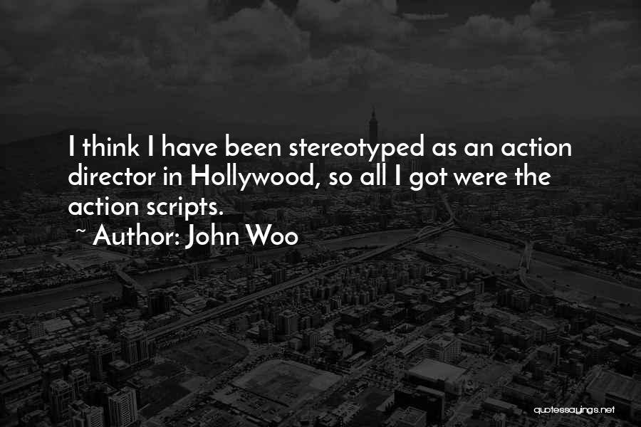 John Woo Quotes 426947