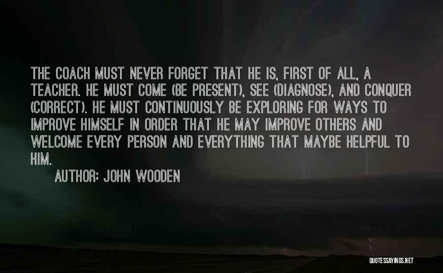 John Wooden Quotes 1354238