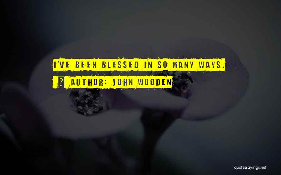 John Wooden Quotes 608009