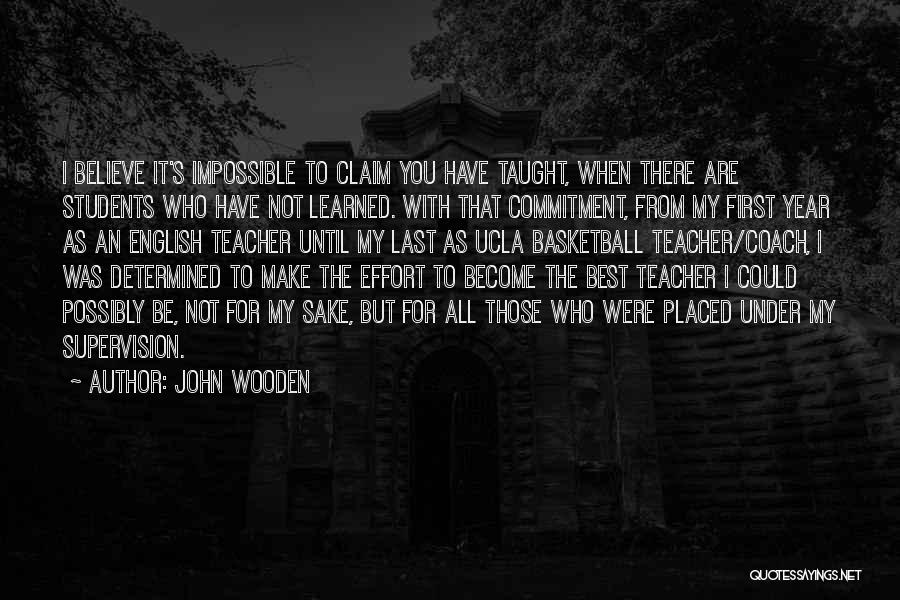 John Wooden Quotes 670988