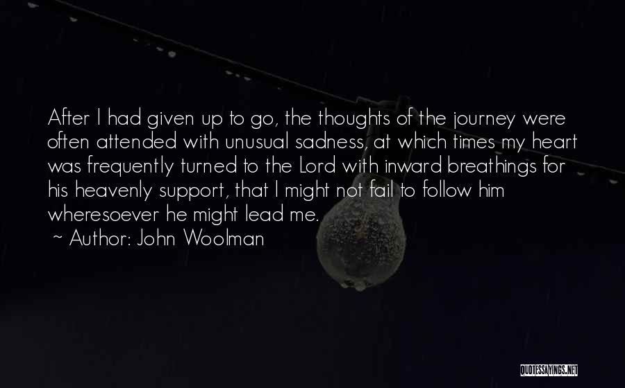 John Woolman Quotes 555036